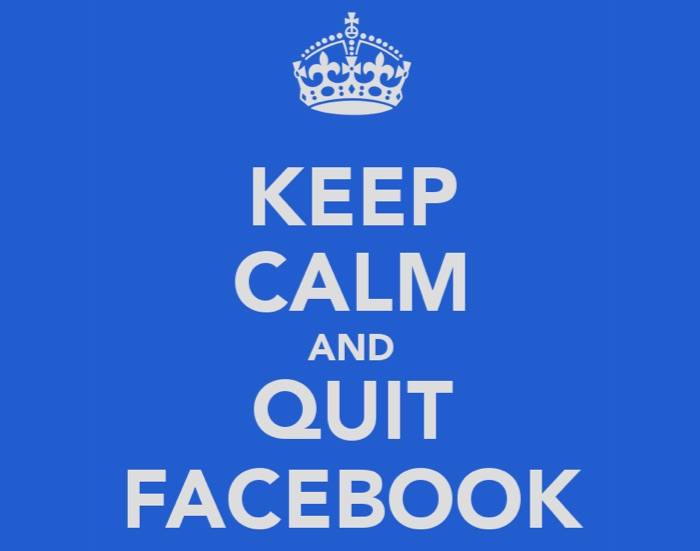 Keep Calk and Quit Facebook