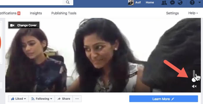 Video on Facebook Cover Page01