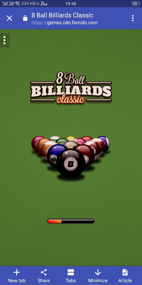 8 Ball Billiards HTML5 Games