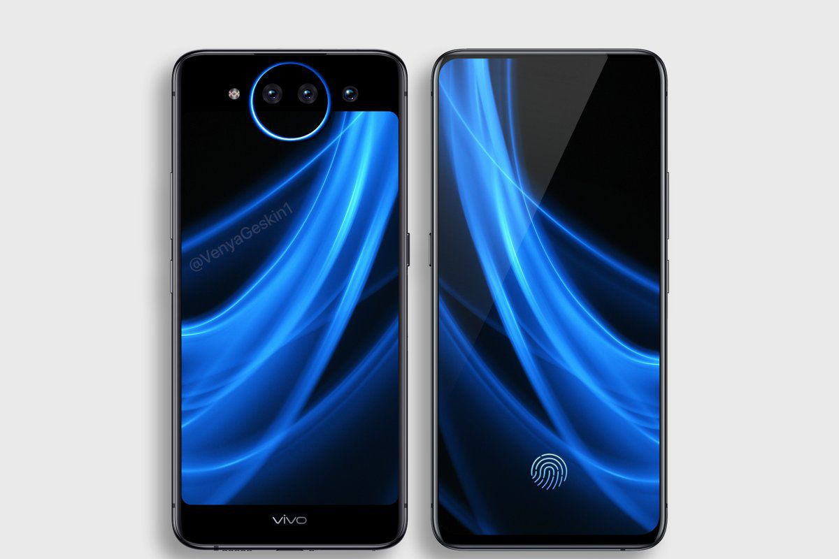 The Vivo Nex 2 Dual Display