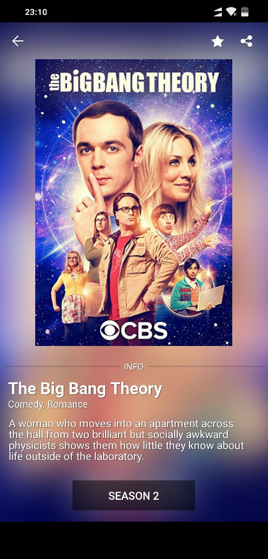 Big Bang Theory on SHowbox