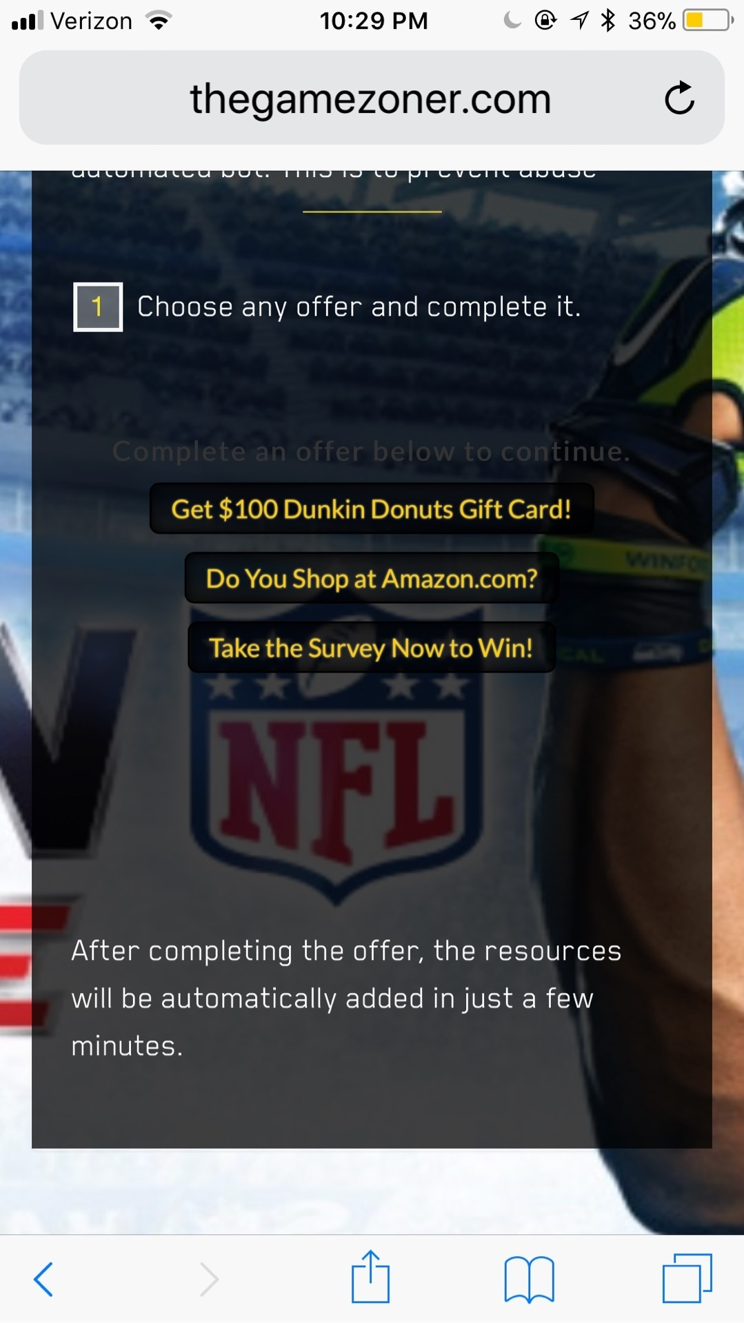Madden Cash Spammy Sites