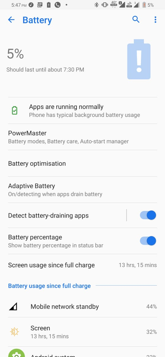 Asus 6z battery Usage Screenshot 02