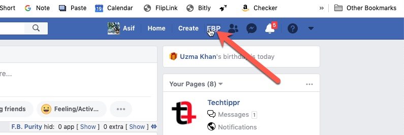 FB Purity Chrome Extension 01