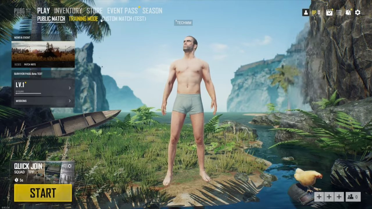 PUBG Lite for PC Screengrab