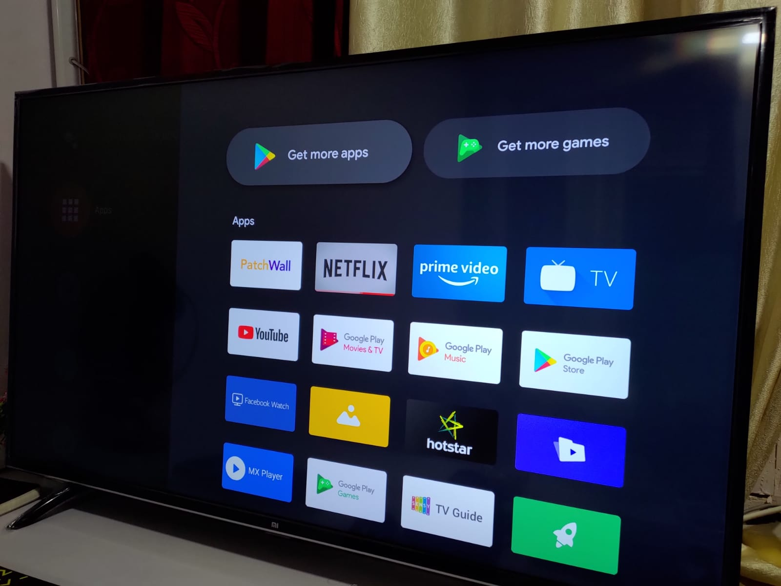 Play Store on Android TV