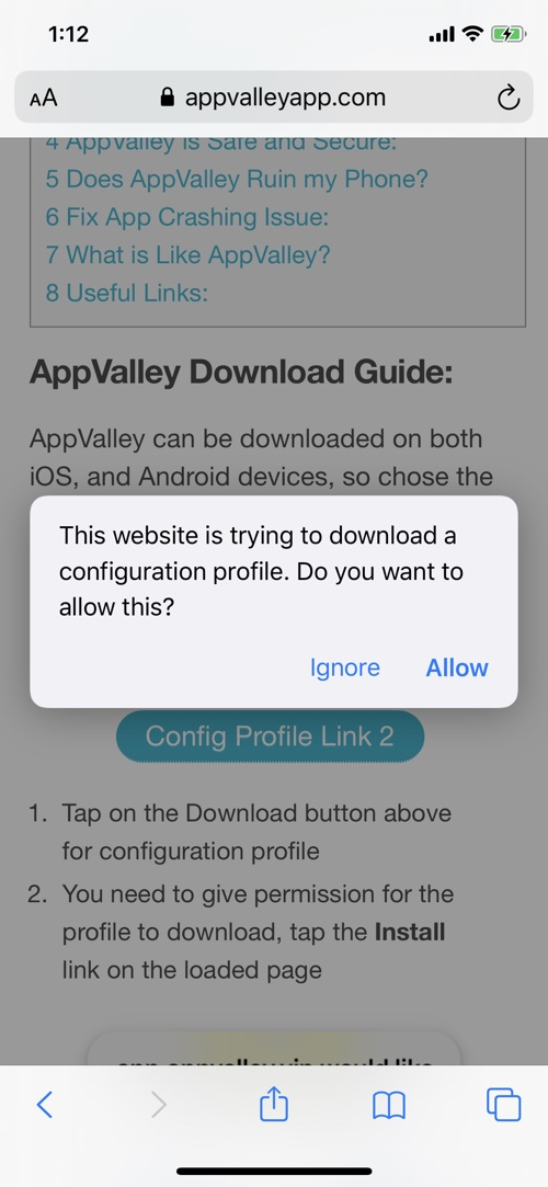 App Valley for iPhone