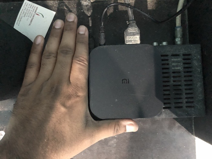 Mi TV Box Size