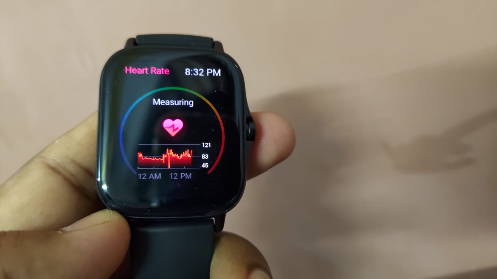 Amazfir GTS2 Heart Rate Monitoring